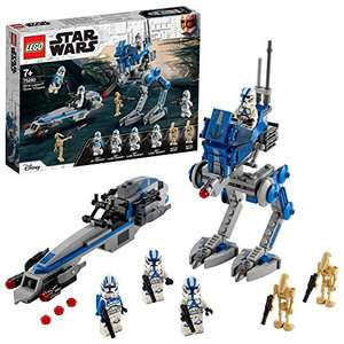 LEGO 75280 Star Wars Clone Troopers der 501. Legion (Amazon Prime)