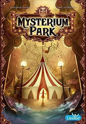 Asmodee Mysterium Park (Brettspiel, ab 10 Jahren, 2-6 Spieler, BGG 7.6) [Prime]
