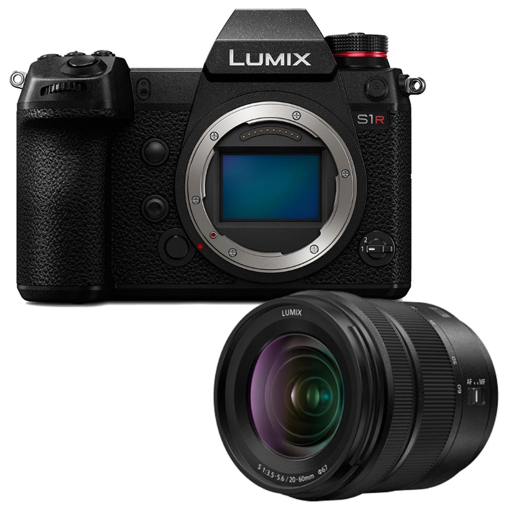 Panasonic Lumix S1R Systemkamera inkl. S 20-60F3,5-5,6 Objektiv