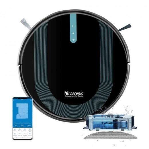 Proscenic 850T Saugroboter mit Wischfunktion, 3000Pa, Sprach- & Appsteuerung für 149,99