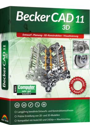 BeckerCAD 11 3D (Downloadversion, deutsch/englisch)