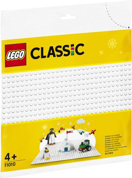 (Thalia KultClub) Lego Classic 11010 Weiße Bauplatte 32x32 Noppen zum guten Preis (UVP - 33 %)