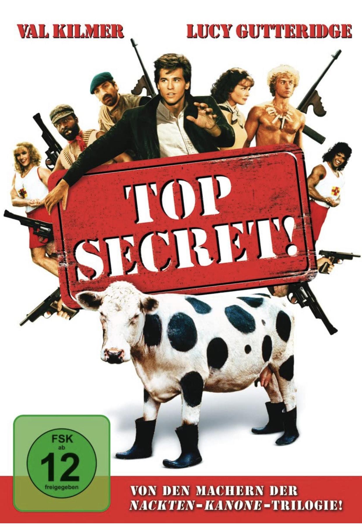 Heute schon geschmunzelt? Val Kilmer in TOP SECRET! - DVD | Amazon Prime