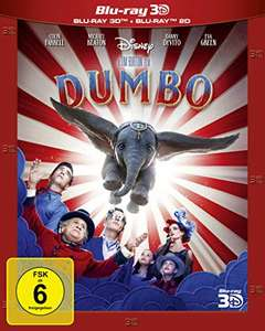 Disney *Dumbo* 2D + 3D Blu-ray [AMAZON]