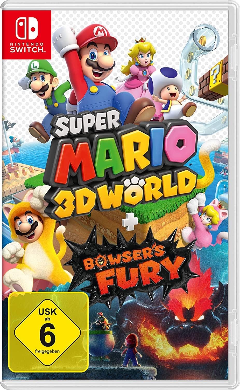 Super Mario 3D World + Bowser's Fury - Nintendo Switch [Saturn]
