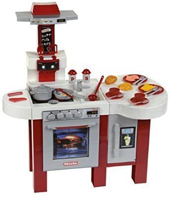 [Amazon] Theo Klein 9123 Miele, Großes Kinder-Küchencenter mit Sound, Gesamthöhe 88,5 cm