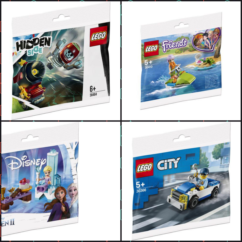[MÜLLER Onlinebestellung & Filialabholung] LEGO Sammeldeal Polybags jeweils 2,50 € 30464 30366 30553 30410