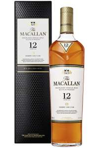 Macallan 12 Sherry Oak 40% vol. Highland Single Malt Scotch Whisky