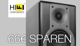 Elac Aktiv-Lautsprecher AM150 für €133/Stück