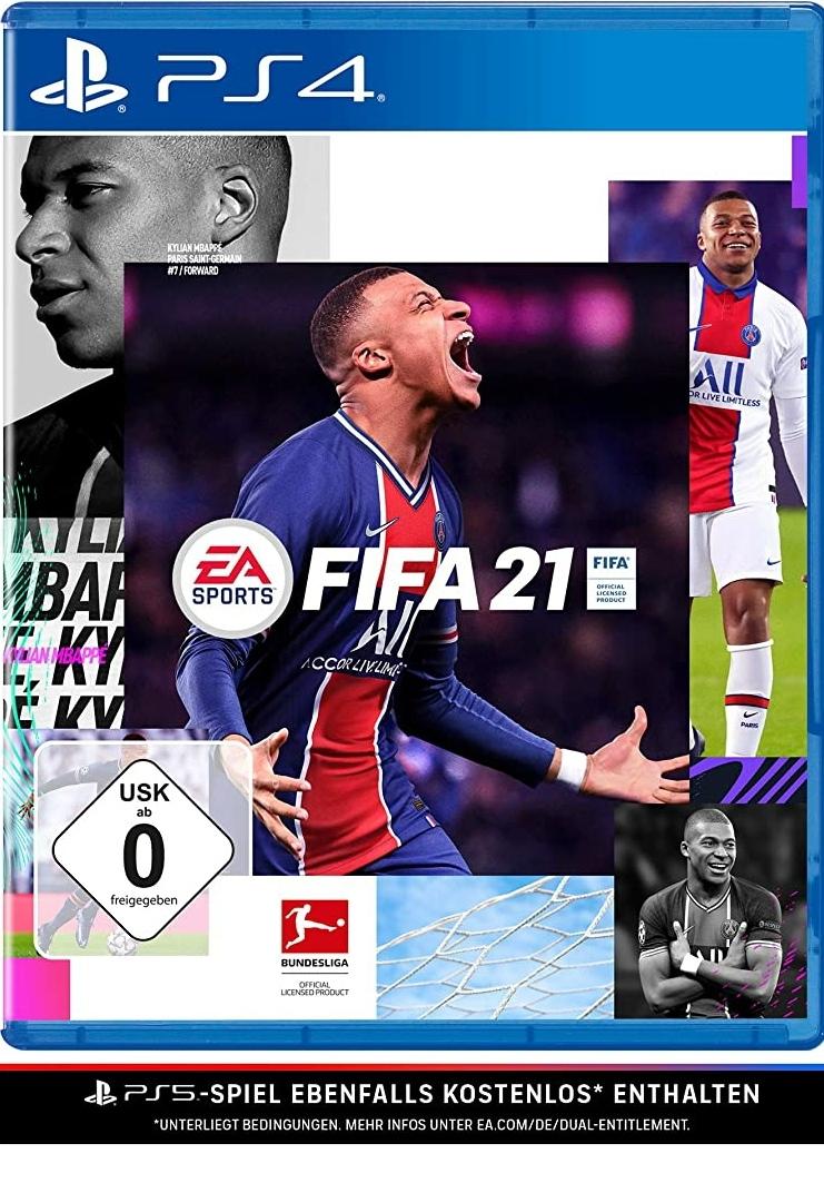FIFA 21 PS4 als Update von FIFA 20 (zusätzlich 500 Fifa Points)