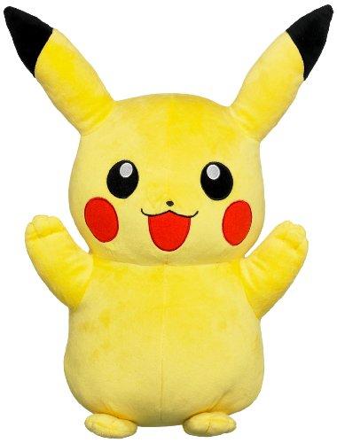 Tomy Pokemon Plüschfigur Pikachu (40cm) Kuscheltier Stofftier Plüschtier (Prime)