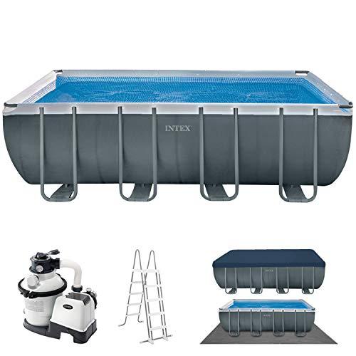 Intex Schwimmbadrahmen-Set Ultra Quadra, 549 x 274 x 132 cm für 520,68€ @ Amazon