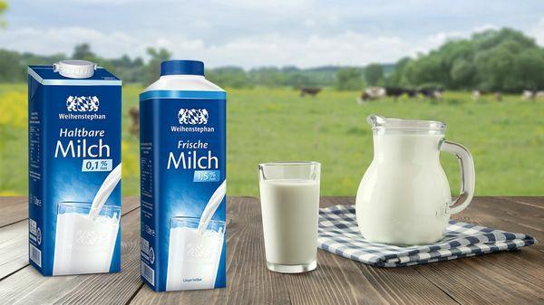 [Marktguru] Weihenstephan Frische Milch 1.5%/3.5% 1L effektiv für 0.58€ mit Cashback im HIT