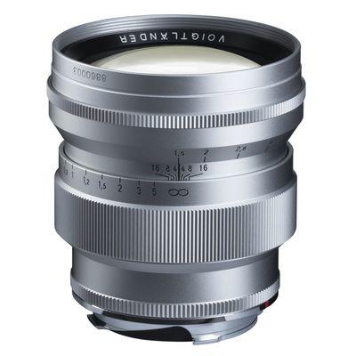 Voigtländer Nokton 75mm f/1,5 asph. VM Leica M silber