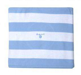 GANT Babydecke weiche Baumwolle in hellblau oder rosa  (Gr. 68x88 cm) für 11,85 EUR