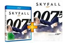 James Bond 007  Skyfall Blu-Ray exklusiv mit Poster DIN A1
