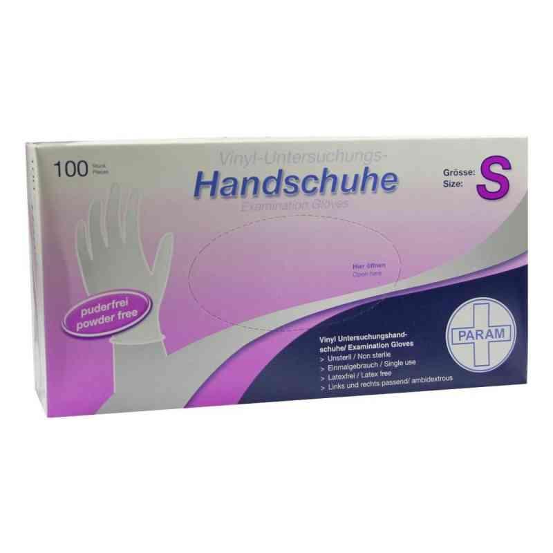 Param Handschuhe Einmal Vinyl puderfrei NUR Größe S 300 Stück