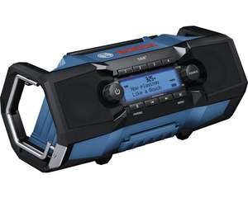 Bosch Professional Akku-Radio GPB 18V-2 SC DAB+ - Hornbach TPG - Sofort abholbereit