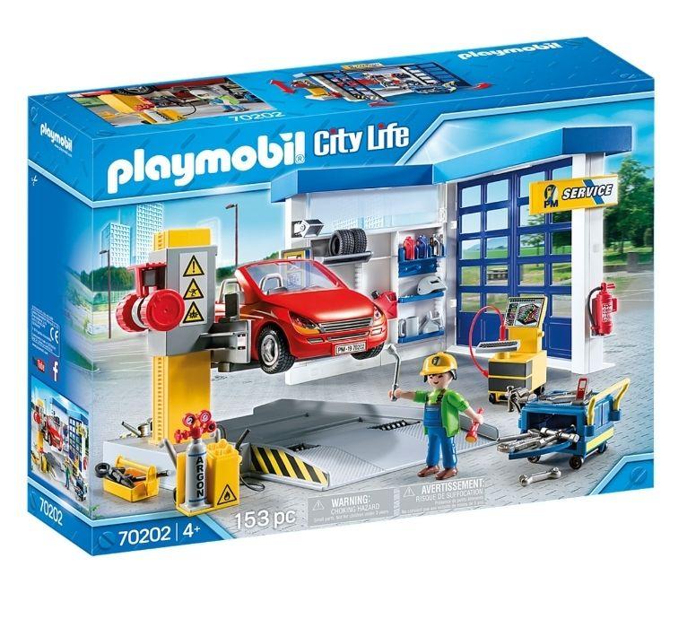 PLAYMOBIL 70202 - City Life - Autowerkstatt (Müller Abholung)