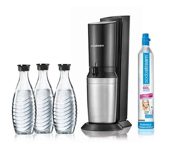 Sodastream Crystal 2.0 inkl.3 Glaskaraffen + 5J. Herstellergarantie für effektiv 82,18€ durch Payback 777 extra Punkte (Neukunden)
