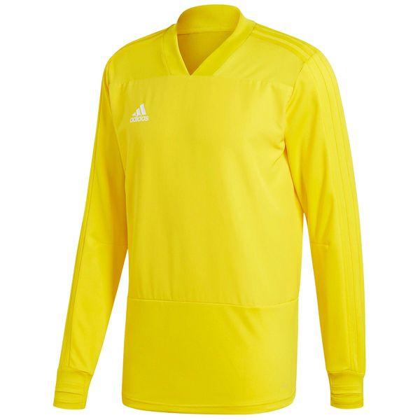[sportdeal24.de] adidas Condivo 18 Training Sweatshirt, Farbe Gelb, XS-XL