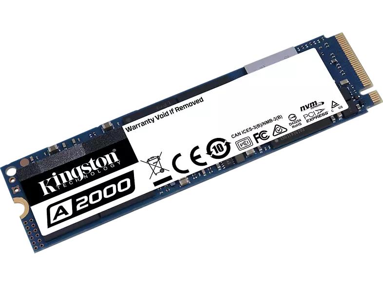 Kingston A2000 NVMe PCIe SSD 1TB, M.2 (SA2000M8/1000G) - Bestpreis!!!