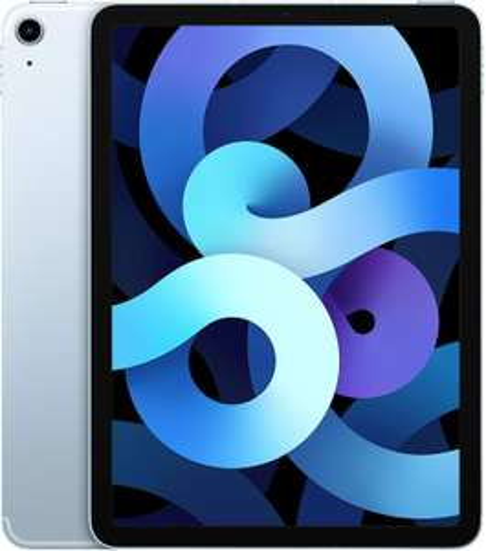 "Apple iPad Air 4 Tablet 10.9"" (2020) - 64GB, Wi-Fi + 4G, Sky Blue (Amazon.es)"