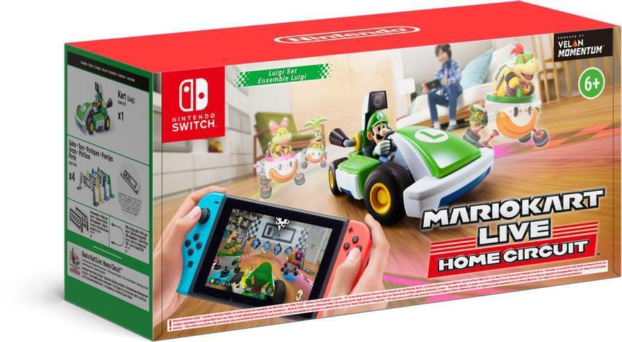Mario Kart Live: Home Circuit Nintendo Switch Luigi Set für 86,39€ inkl. Versandkosten [Saturn ebay]