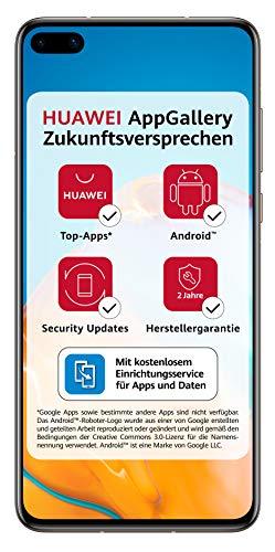 HUAWEI P40 Dual-SIM Smartphone BUNDLE 128 GB Blush Gold [+5 EUR Amazon Gutschein]
