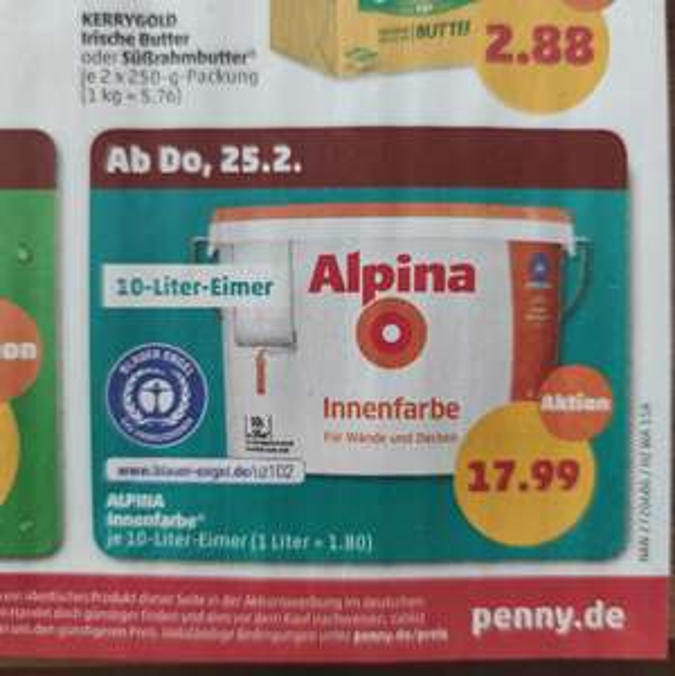 Alpina Innenfarbe 10l