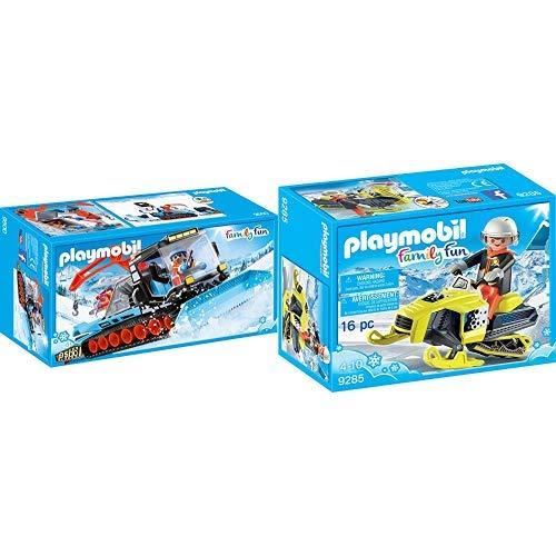 [Prime] PLAYMOBIL 9500 Spielzeug-Pistenraupe & 9285 - Schneemobil