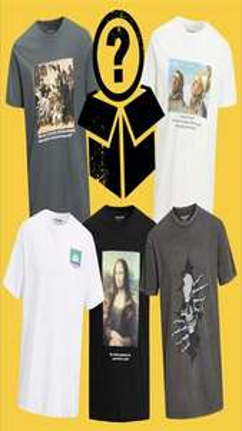 Jack & Jones T-Shirt Mystery Box mit 10 zufälligen Shirts für 50€ / 5 Shirts für 30€ / 15 Shirts für 70€