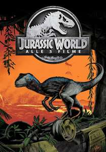 [Google Play Store] Jurassic Park Collection | 5 HD-Filme (22,99€) oder 4 Filme in SD (17,99€)