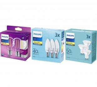 [Netto Filiale] Verschiedene Philips Glühbirnen LED Filament / LED [lokal]