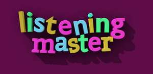 [Google Play Store] Learn English with Listening Master Pro