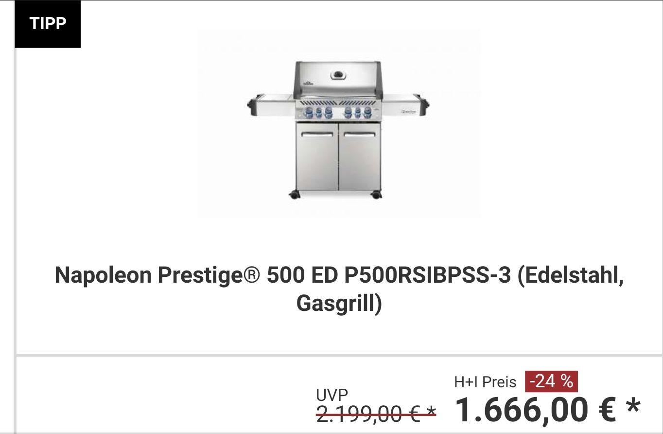 Napoleon Prestige 500 Edelstahl