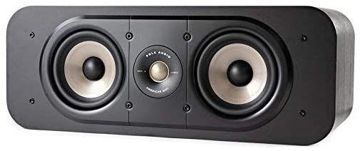 Polk Audio Signature S30E Center Lautsprecher, HiFi Lautsprecher für Musik und Heimkino Sound, 20 - 125 Watt, 8 Ohm