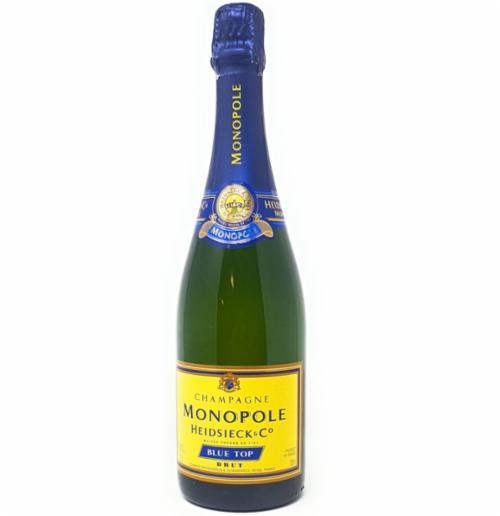 Champagner Monopole Heidsieck Blue Top Brut 0,75l Alkohol 12% Vol.