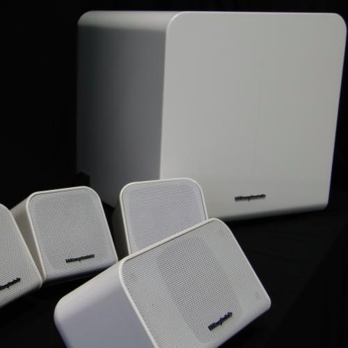 Wharfedale moviestar MS-100 5.1 (weiß hochglanz) für 199€ (50% ggnü idealo!)