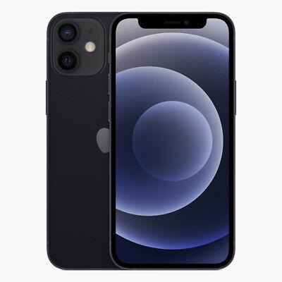 Apple iPhone 12 MINI - 128GB - SCHWARZ / Weiß (Ohne Simlock) NEU OVP