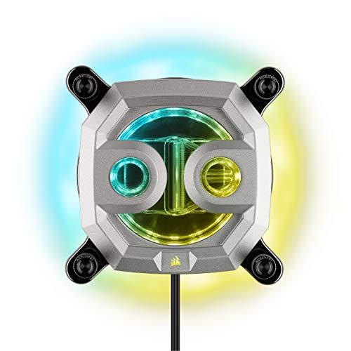 [Prime] CORSAIR Hydro X Series XC9 RGB CPU-Wasserkühler (2066/sTRX4)- Silber [ CX-9010010-WW ]