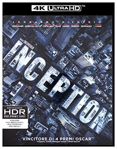 Inception (Blu-ray und 4K Blu-ray deutscher Ton) oder Insterstellar (nur 4K Blu-ray deutscher Ton) (4K Ultra HD) (+ Blu-ray 2D)