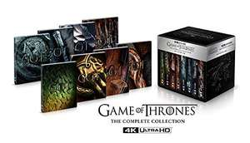 Game of Thrones 4K UHD Blu-ray Complete Collection Limited Deluxe Steelbook (deutsche Tonspur, englische Schrift auf dem Steelbook)