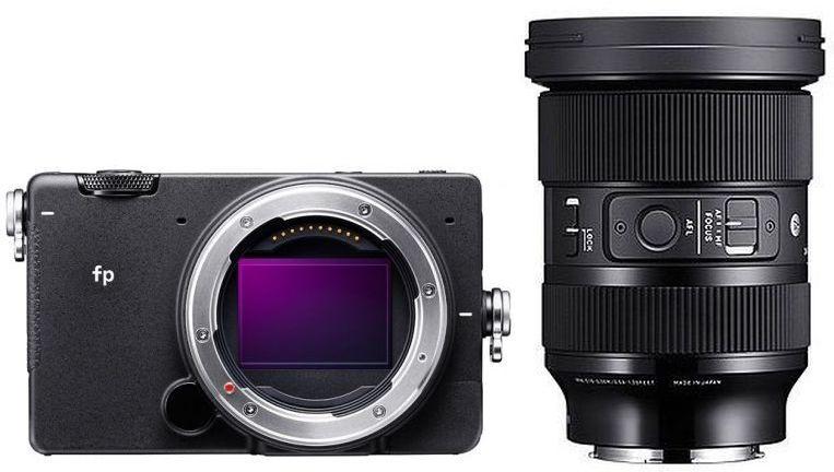 Sigma fp Systemkamera + Sigma 24-70mm F2,8 DG DN Art Objektiv für L-Mount