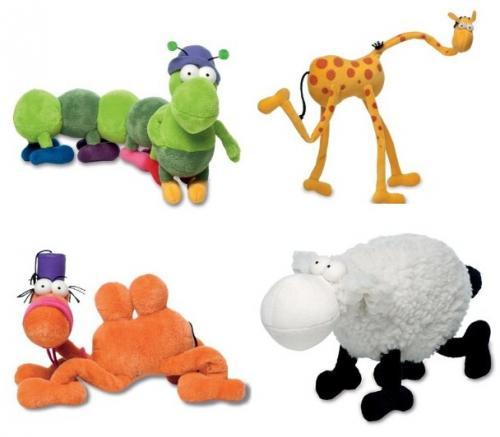 [Amazon] Heye Plüschtiere des Zeichners Guillermo Mordillo ca. 40-50cm (Giraffe, Kuh, Schaf, Taußendfüßler, Kamel) ab 10,36 € (UVP 29,95) - bis zu 65 % Ersparnis!