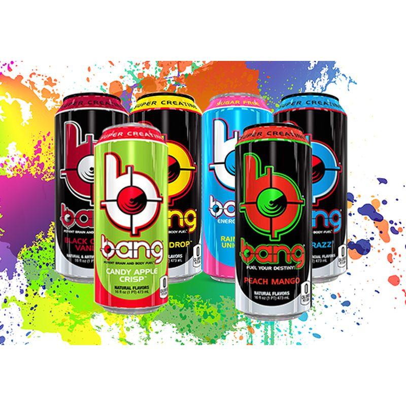 """[Metro] Bang Energy Fitness Drink - zuckerfrei mit BCAA Aminosäuren für """"Sportler""""/ """"Pumper"""""""