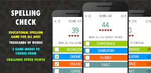 [Google Play Store] Spielend Englisch lernen   Spelling Check PRO & weitere Spiele