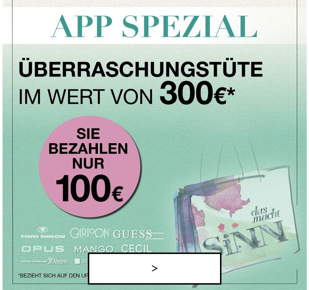 [lokal] das macht SiNN (Leffers) Überraschungstüte 300€ Warenwert für 100€ in der APP