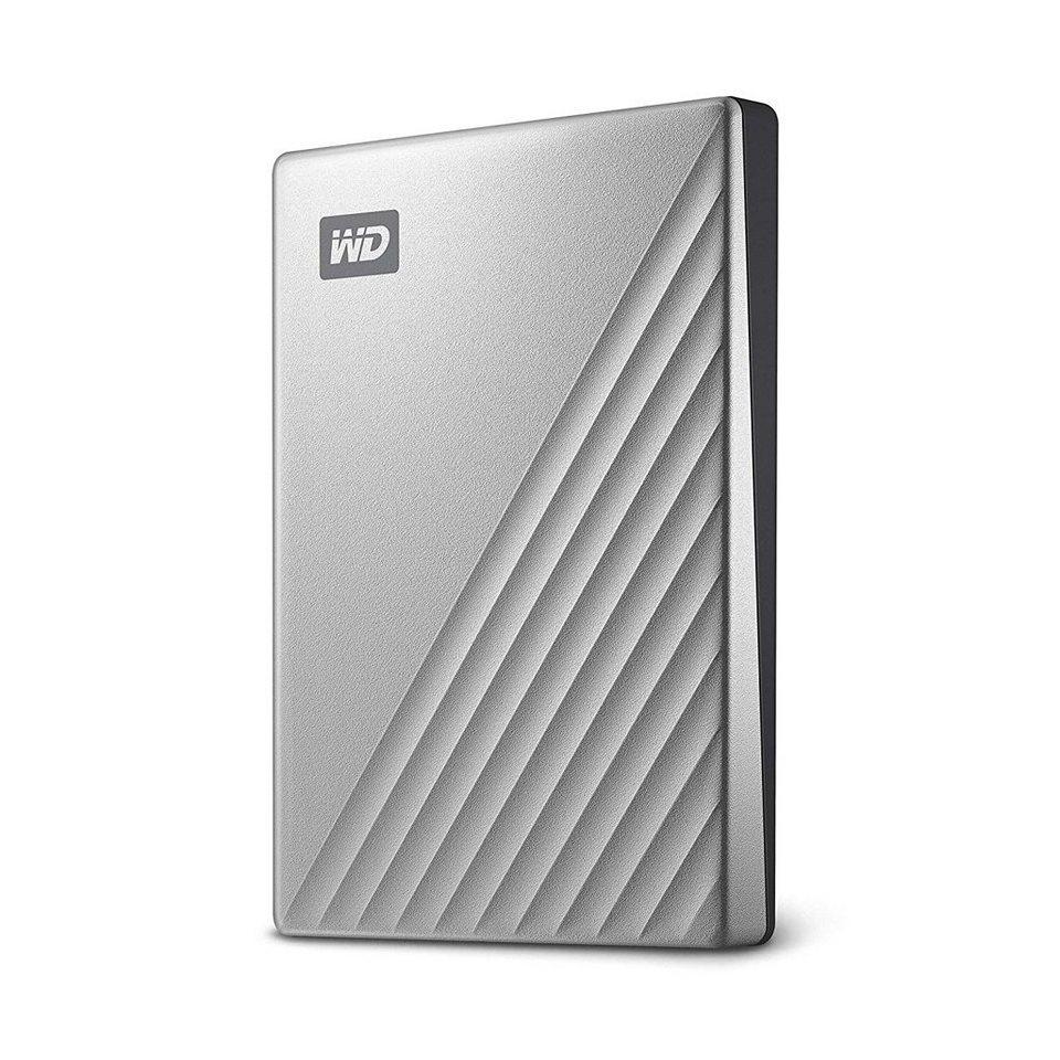 WD »Tragbarer Speicher« externe HDD-Festplatte (4 TB), MY PASSPORT ULTRA)