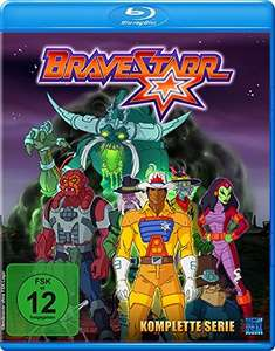 Bravestarr - Gesamtbox inkl. Legende - New Edition [Blu-ray] für 9,97€ (Amazon Prime + ebay)